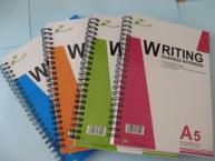 Sổ lò xo Pgrand Writing A6, A5, B5, A4