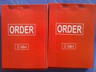 Phiếu order