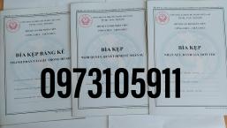 Bìa kẹp bảng kê thành phần tài liệu trong hồ sơ ( cán bộ công chức)